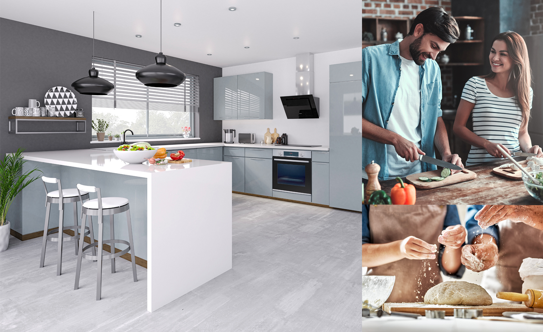 The changing roles of our kitchens.